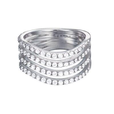Esprit női ezüst gyűrű 925-ös, méret 16, Gleaming Wave