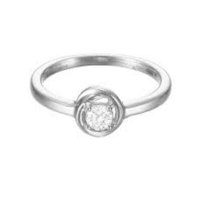 Esprit női ezüst gyűrű 925-ös, méret 16, 17 és 18, ESRG92759A Twist