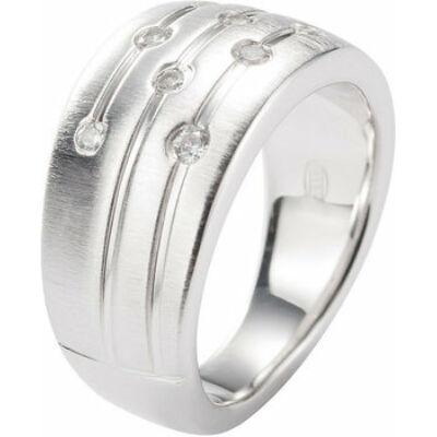 Fossil női gyűrű JF15789 ezüst méret 16-os