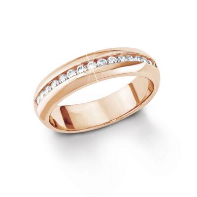 S.Oliver női gyűrű SO1098 ezüst méret 17.7