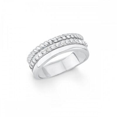 S.Oliver női gyűrű SO1392 925 ezüst, méret 17.1