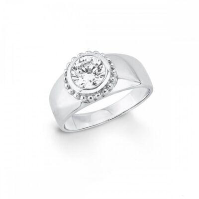 S.Oliver női gyűrű 925 ezüst SO1399, méret 16.5