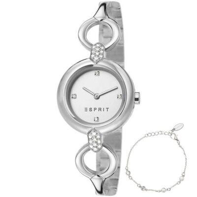 Esprit női karóra karkötővel ES107332001 Naomi
