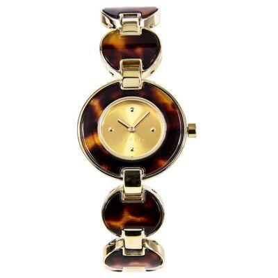 Esprit női karóra ES106572003 Lagoon Tortoise Gold