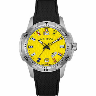 Nautica férfi karóra NAI13516G 12 Flag Yellow