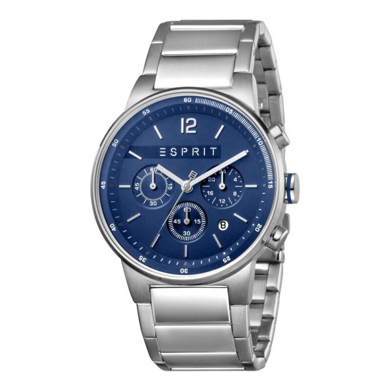 Esprit ES1G025M0075 Equalizer Blue Silver férfi karóra Chronograph
