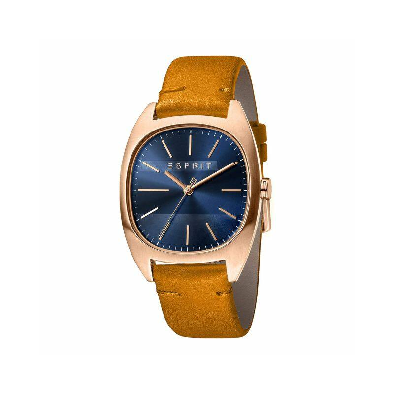 Esprit ES1G038L0055 Infinity Blue Rosegold Brown férfi karóra