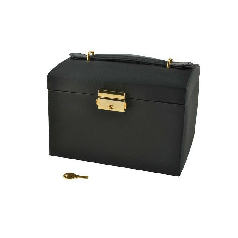 Ékszertartó doboz - fekete