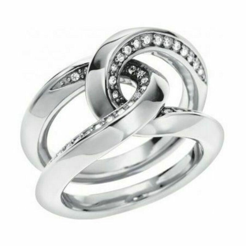 DKNY női gyűrű NJ1494 méret 18-as