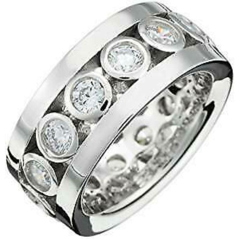 Esprit női gyűrű ezüst ESRG91497A méret 17-es és 18-as