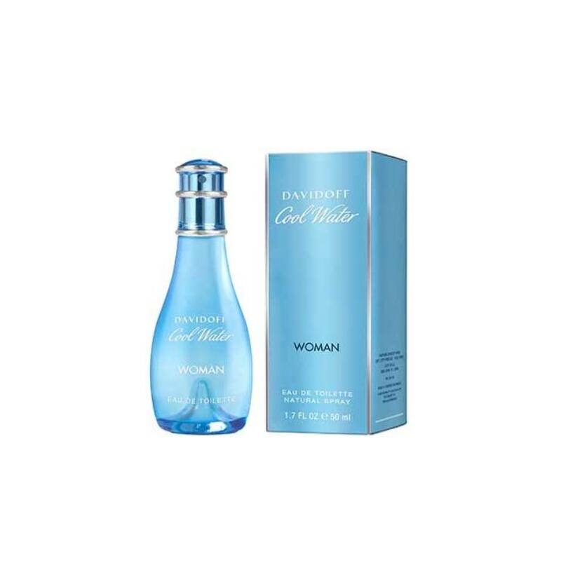 Davidoff Cool Water Women EdT nőknek 50 ml