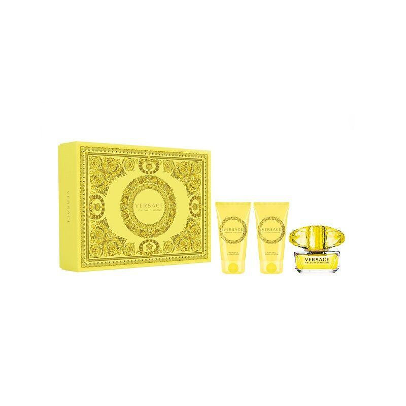 Versace Ladies Yellow Diamond Gift Set