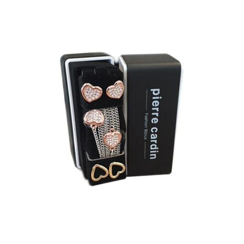 Pierre Cardin nyaklánc és fülbevaló ékszer szett PXN6422