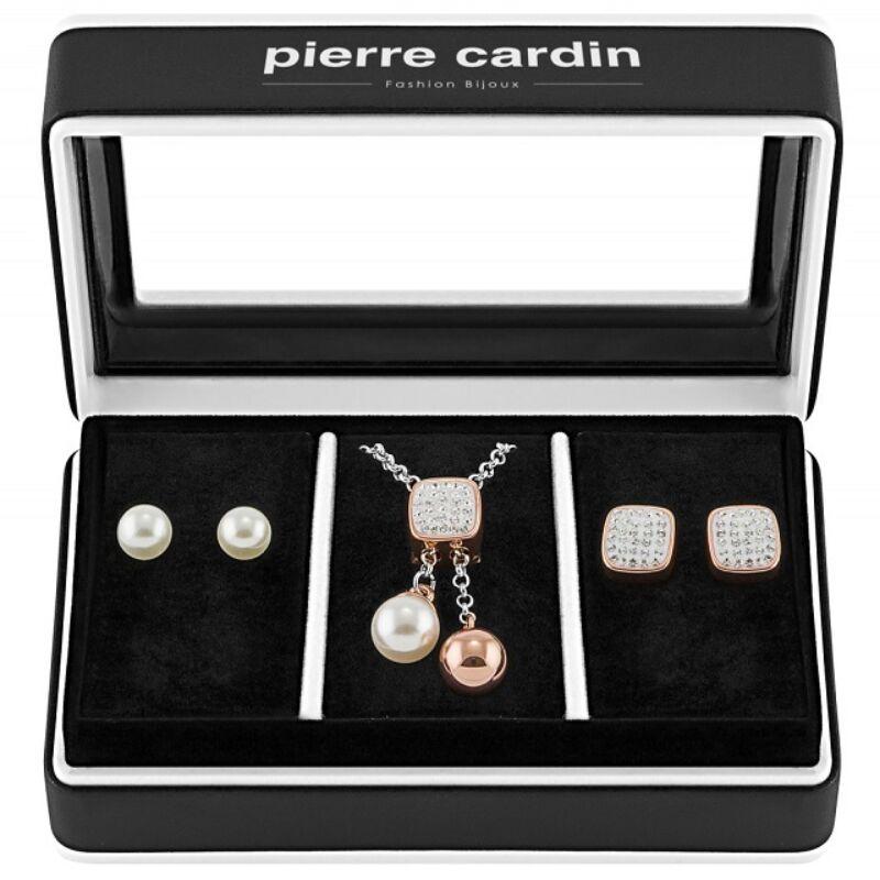 Pierre Cardin női nyaklánc és fülbevaló szett PXX7405