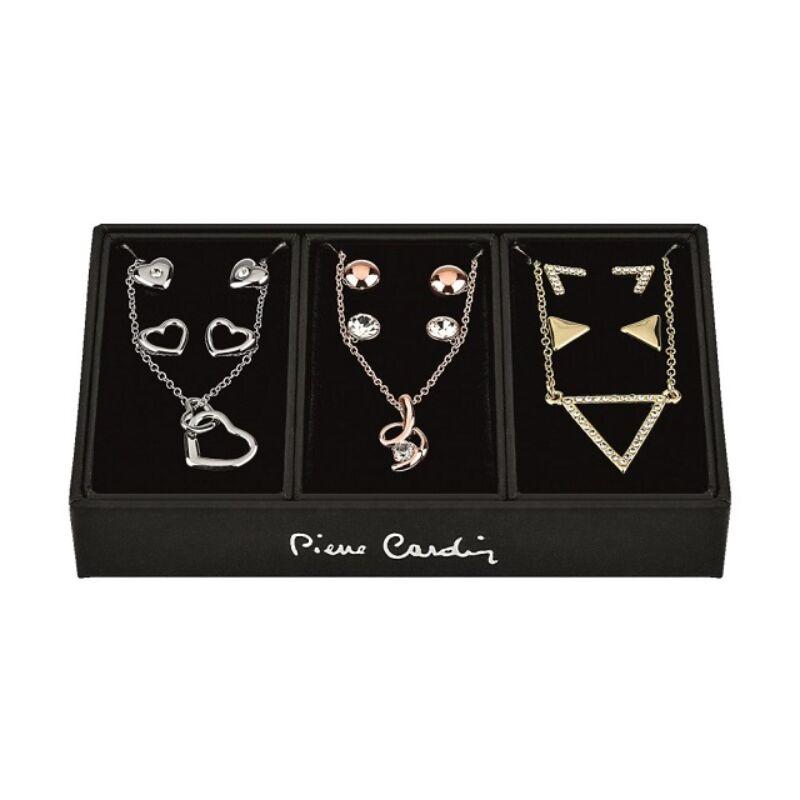 Pierre Cardin női nyaklánc és fülbevaló ékszer szett PXX7970