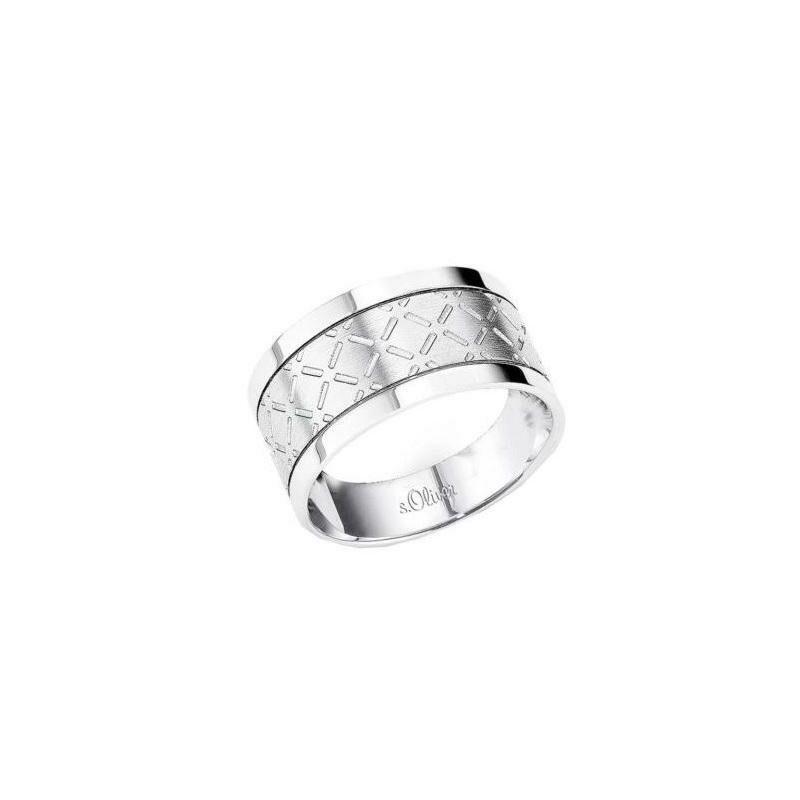 S.Oliver férfi gyűrű méret 60 és 62 SO587
