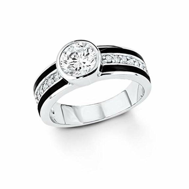 S.Oliver női gyűrű 925 ezüst SO1109, méret17.7