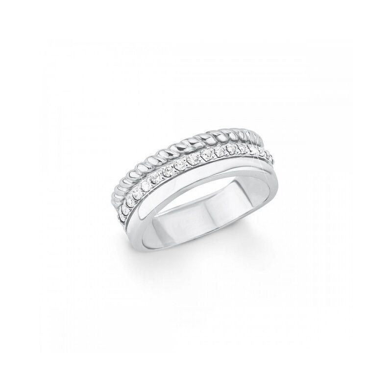 S.Oliver női gyűrű SO1392 925 ezüst, méret 18.5