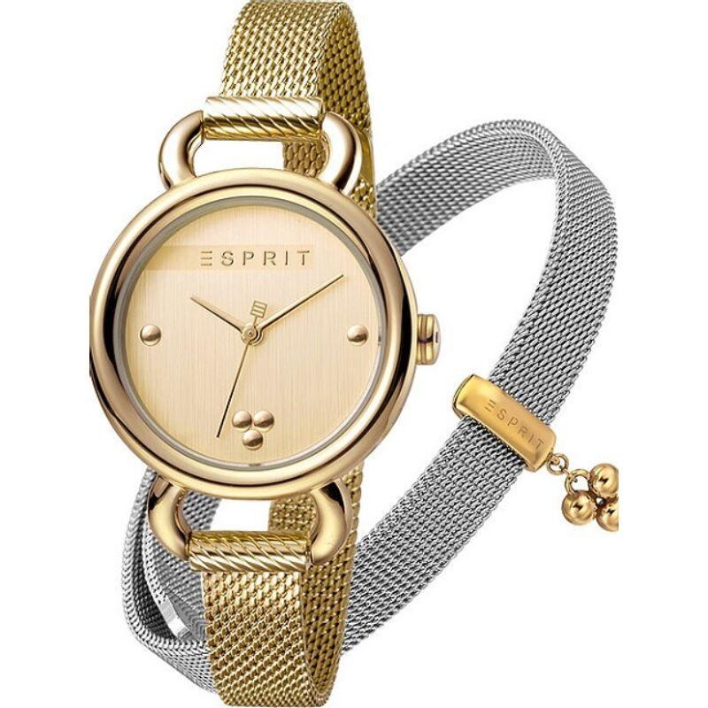 Esprit női karóra ES1L023M0055 karkötővel