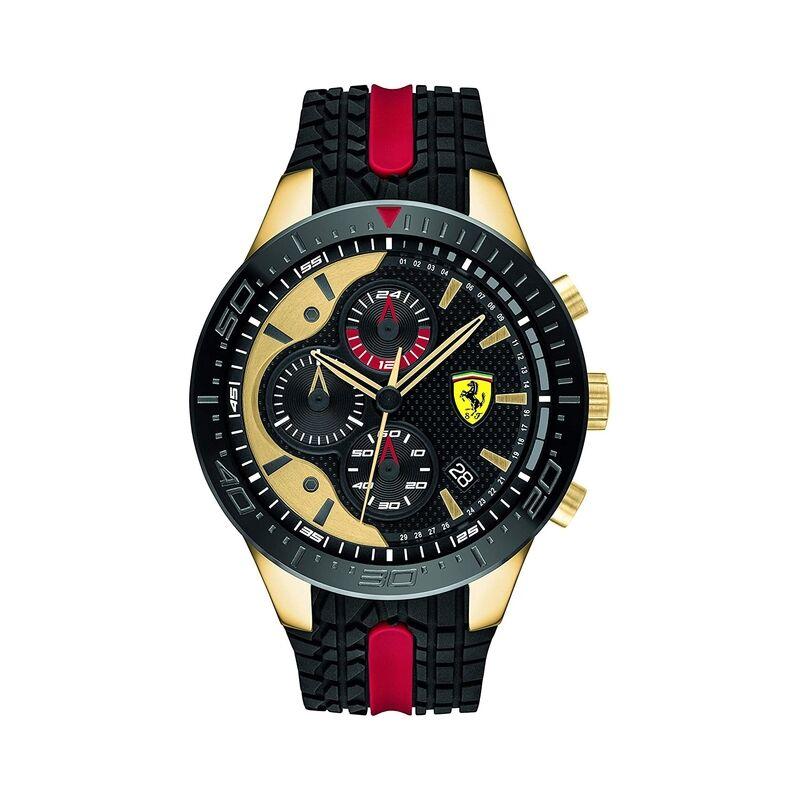 Ferrari férfi karóra Red Rev Evo Black 0830593