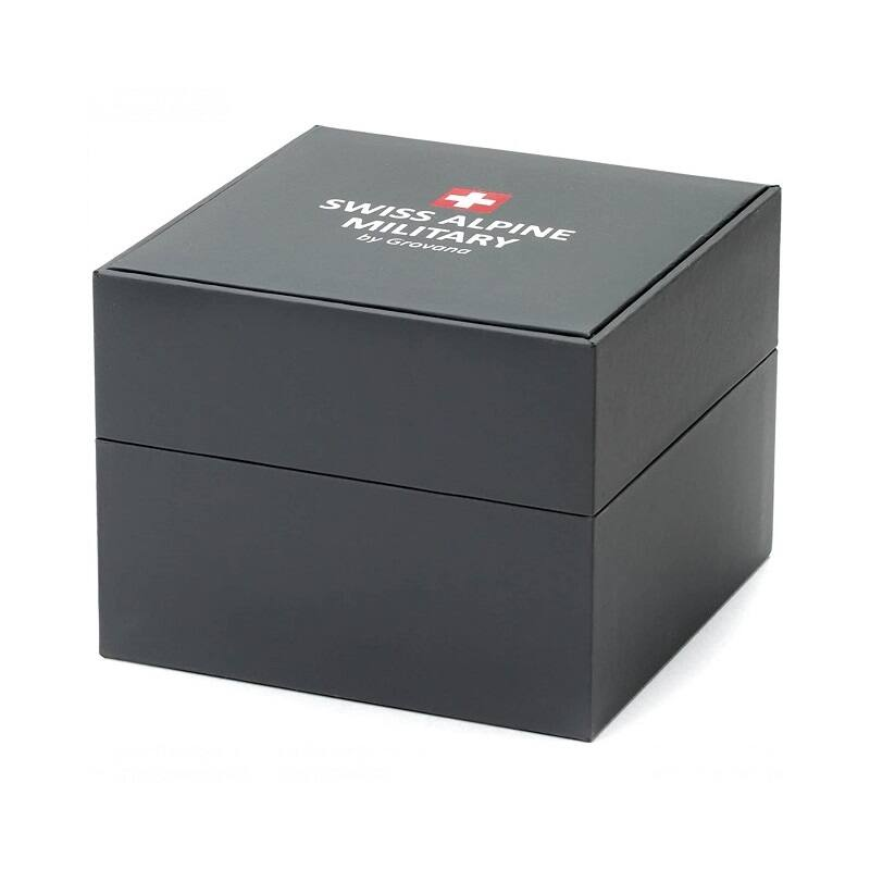Swiss Alpine Militaryférfi karóra7022.1177 42 mm 10 ATM