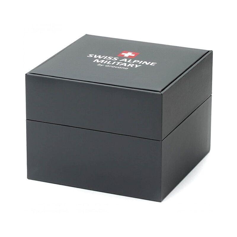 Swiss Alpine Militaryférfi karóra7066.1675 44 mm 10 ATM