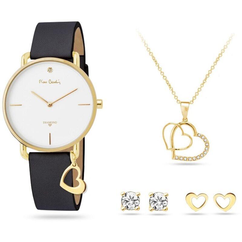 Pierre Cardin PCDX8464L23 ajándék szett óra és nyaklánc és fülbevaló