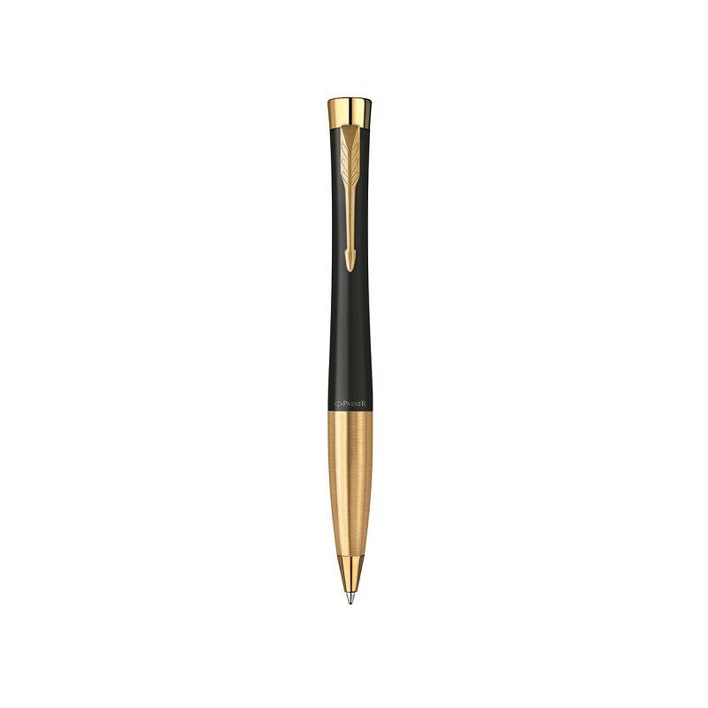 Parker Urban Twist  golyóstoll fekete, arany klipsz 2143640