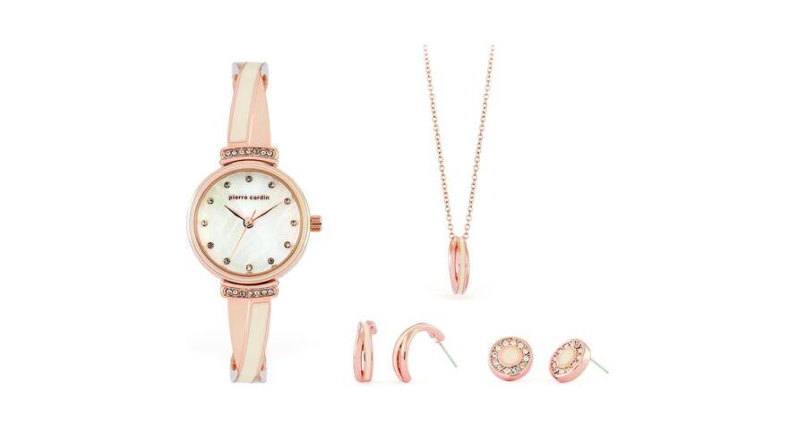 Pierre Cardin óra-ékszer ajándék szett PCX6857L295 - Nyaklánc ... 97d0a0cf79