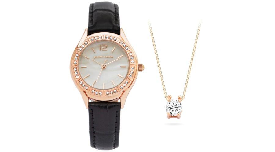 Pierre Cardin óra-ékszer ajándék szett PCX6556L290 - Nyaklánc ... 78fecdd361
